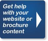 get help with your website or brochure content